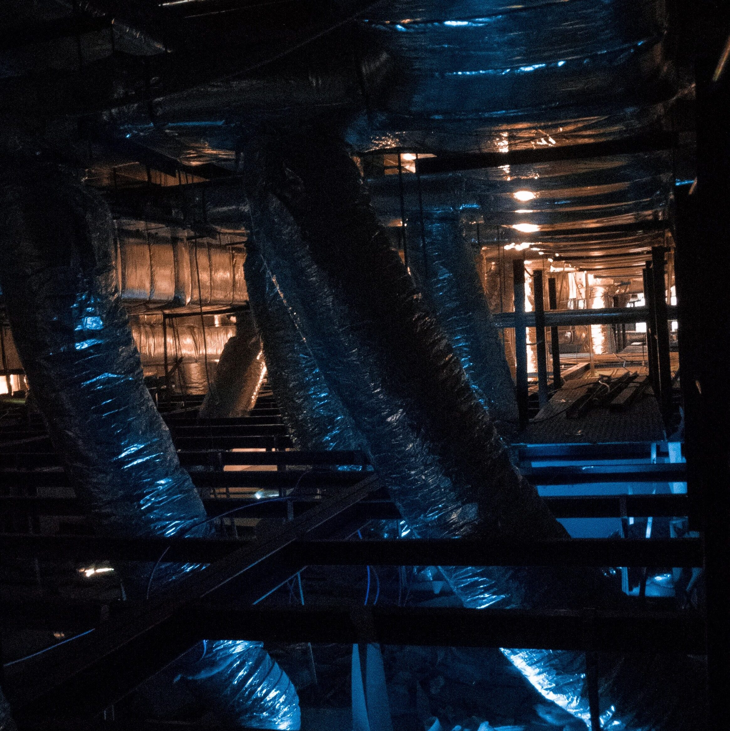 Duct Insulation Wrap for HVAC Exterior